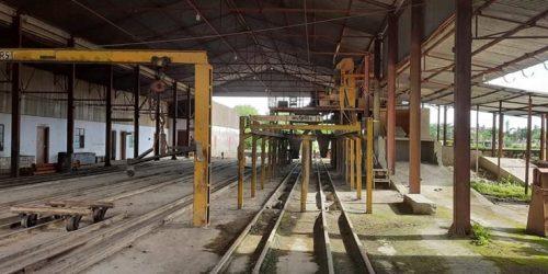 রেলওয়ের কংক্রিট স্লিপার কারখানায় আজ থেকে আবারো উৎপাদন শুরু